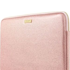 kate spade Accessories - New Kate Spade ♠️ Rose Gold Glittery Laptop Sleeve